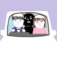 車中の義母とペンフレンドとSun