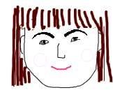 美しく整ったSunの眉毛の画