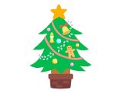 クリスマスツリーの画
