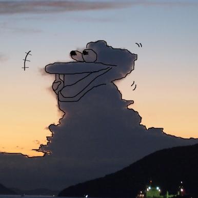 リベンジ版ギャハハーとうけまくっている怪獣