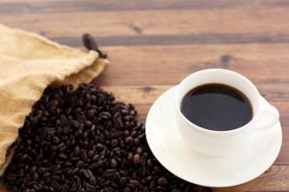 コーヒーをこよなく愛するマスターがドリップした美味しいコーヒーのイメージ画像