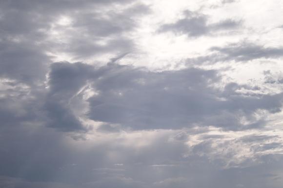 8月6日の空の画像
