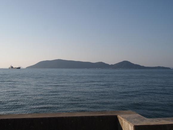 10月に撮影した海の写真