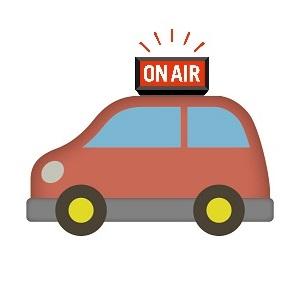 ラジオカーの絵