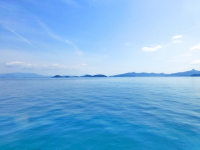 瀬戸内海の海の風景