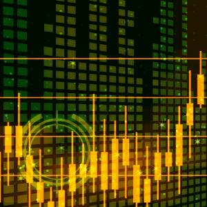 株価チャートのイメージ画像