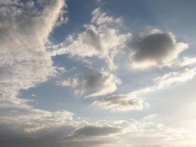 ある夏の日の空の写真